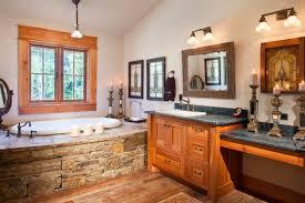 Rustic Bathroom Designs - cozy and warm rustic bathroom designs u2014 the home design
