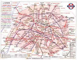 Map Paris France by For All You Map Lovers These Beautiful Transit Maps Have Been