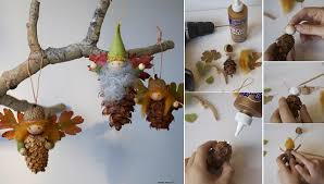 wonderful diy pine cone ornaments