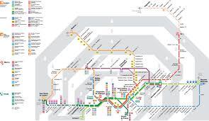 La Metro Map Pdf by Barcelona Train Map 2017