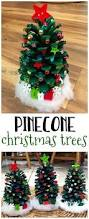 decorate pinecone christmas trees pinecone christmas tree and craft