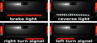 led brake lights for trucks tailgate led strip for reverse lights only jeepforum com