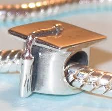 graduation cap charm sterling silver graduation cap charm fits pandora great
