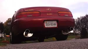 lexus sc300 performance parts lexus sc300 fujitsubo cat back exhaust youtube