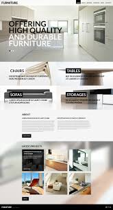 website template 52423 furniture company design custom website