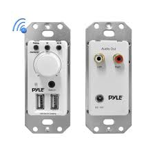 best 2 1 home theater system in india amazon com pyle in wall bluetooth audio receiver wall plate