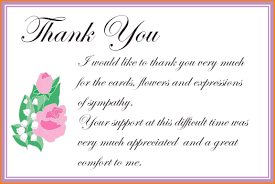 thank you for sympathy card thank you letters for sympathy cards now 9 sympathy thank