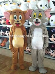 Tom Jerry Halloween Costumes Tom Jerry Mascot Costume Tom Jerry Mascot Costume