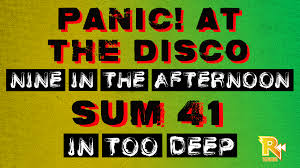 harmonix blog dlc week of 2 14 u003d panic at the disco and sum 41