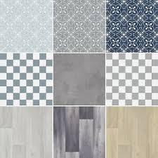 is vinyl flooring quality details about felt backed quality vinyl flooring kitchen bathroom tile wood textile backing
