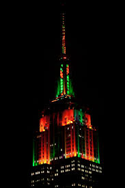 halloween light esb annual halloween music to light show empire state building