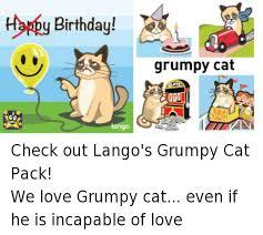 Grumpy Cat Meme Happy Birthday - 25 best memes about birthday grumpy cat birthday grumpy cat memes