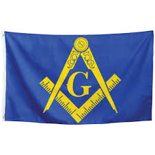 Masonic Home Decor Amazon Com Masonic Flag Gold Square U0026 Compass Indoor Outdoor