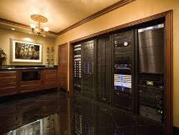 Audio Video Equipment Racks Palatial Home Theater Runs On 5 Racks Ce Pro