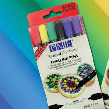 edible pen edible pen by pme brush and bold 6 pack