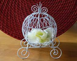 Cinderella Wire Carriage Centerpieces by Carriage Etsy