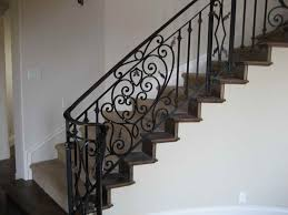 Design For Staircase Railing Metal Stair Railing 19 Photos Of The Luxurious Iron Stair