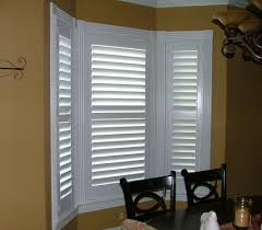Budget Blinds Charleston Beautiful Three Panel Plantation Bypass Shutter By Budget Blinds