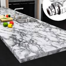 kitchen backsplash cabinets yenhome faux peel and stick countertops 24 x 196 landscape white marble wallpaper for kitchen backsplash cabinets cover shelf liner peel and stick