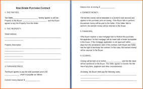 Free Real Estate Purchase Agreement Template by Example Recording Contract Pdf Create Professional Resumes