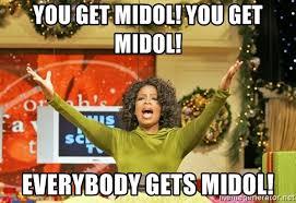 Midol Meme - you get midol you get midol everybody gets midol oprah gives