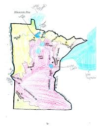 St Croix Map Earthscienceguy Minnesota Continental Divide Student Map