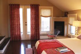033 linen patterned grommet curtains u0026 linen soft roman shades
