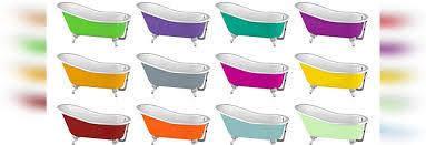 Retro Bathtubs Cast Iron Bathtubs Dare Color Dare Retro Chic Rome