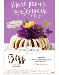 power than flowers nothing bundt cakes littleton co