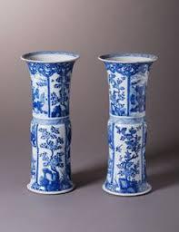 Blue And White Vase Blue And White Vanderven Oriental Art Vanderven Oriental Art