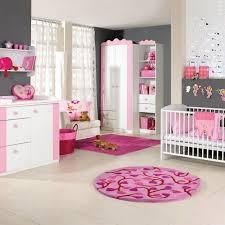 tapis rond chambre bébé chambre enfant chambre bébé fille gris murs gris tapis rond