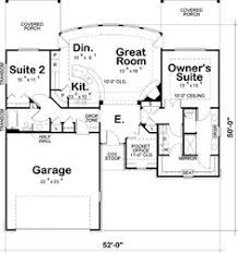 Two Bedroom House Plans by Plan 44091td Designed For Water Views Scale Bedrooms And Kitchens