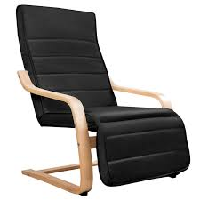 Ergonomic Armchairs Birch Wood Cotton Ergonomic Lounge Arm Chair Black Buy Armchairs