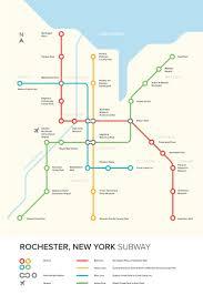 Boston Transit Map by Rochester Transit Map U2014 Kacy Liu