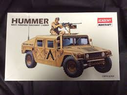armored hummer academy minicraft m1025 hummer armored carrier 1 35 model kit ebay
