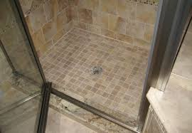 shower teak floor bathroom awesome custom shower base corner