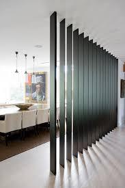 Bedroom Divider Ideas Interior Partitions Room Zoning Design Ideas Black Wooden Wall