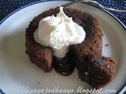 inato lang filipino cuisine and more molten butterscotch cake and