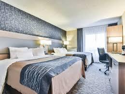 dorval chambre en ville hôtel comfort inn dorval hôtels dorval hébergement québecoriginal