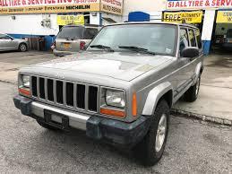 cherokee jeep 2001 used 2001 jeep cherokee sport 4wd suv 4 990 00
