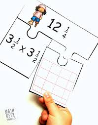 low prep multiplying fractions activity free mixed numbers puzzles