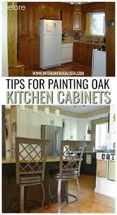 painting oak kitchen cabinets white helpful tips for painting golden oak kitchen cabinets