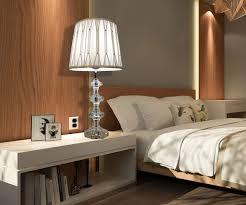 Schlafzimmer Lampe E27 Nachttischlampe Schlafzimmer Lampe Kristall Tischleuchte Schirm
