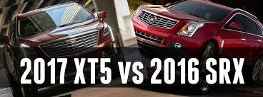 cadillac srx engine 2017 cadillac xt5 vs 2016 cadillac srx