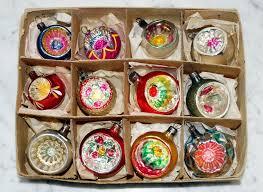 12 antique miniature german lauscha glass ornaments 5102