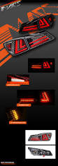 lexus isf bahrain price black 3d red stripe full led tail lights for lexus isf is250 is350