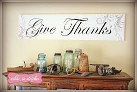 Thanksgiving Home Decorations Give Thanks Thanksgiving Home Decor Made Simple Nikki In Stitches