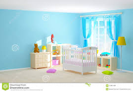 baby room with floor shelves stock illustration image 51981439