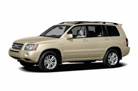 2006 toyota highlander hybrid new car test drive