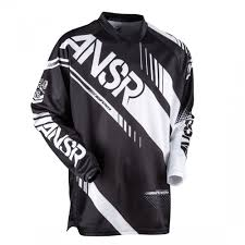 kids motocross jerseys answer racing syncron kids motocross jersey black white 2017